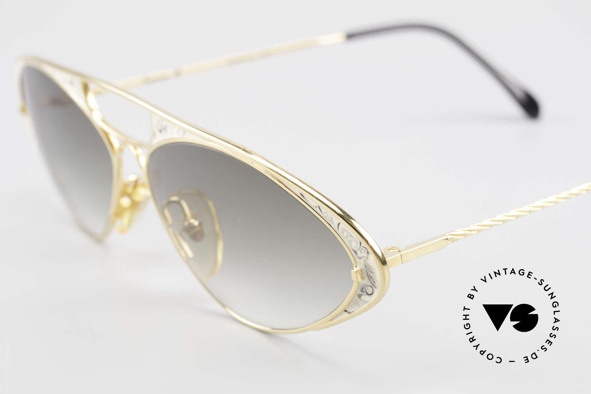 Casanova LC8 Vintage Sonnenbrille Damen, ungetragen (wie alle unsere kunstvollen Sonnenbrillen), Passend für Damen