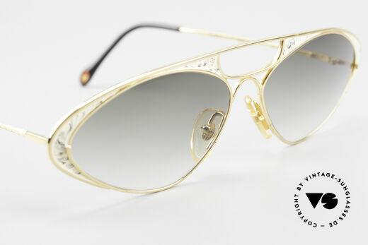 Casanova LC8 Vintage Sonnenbrille Damen, KEINE Retrobrille, sondern ein einzigartiges ORIGINAL, Passend für Damen