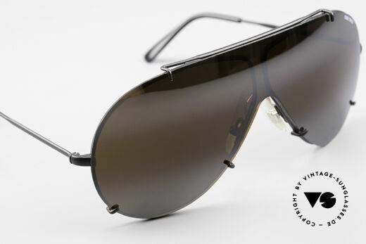 Cebe 2000 Vintage Rallye Sportbrille, KEINE Retrobrille; sondern ein 30 Jahre altes ORIGINAL!, Passend für Herren