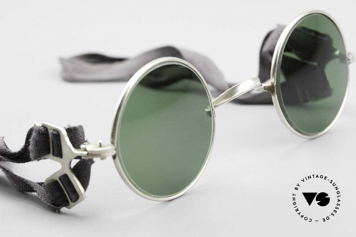 Militärbrille Round Alte Armee Brille Steampunk
