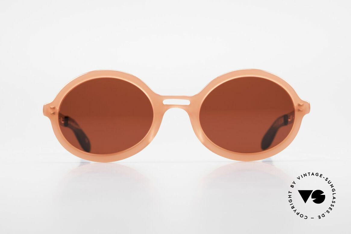 IDC I067 Spassbrille Steampunk 90er, schrille Sonnengläser in 3D-Rot; eher eine Spassbrille, Passend für Damen
