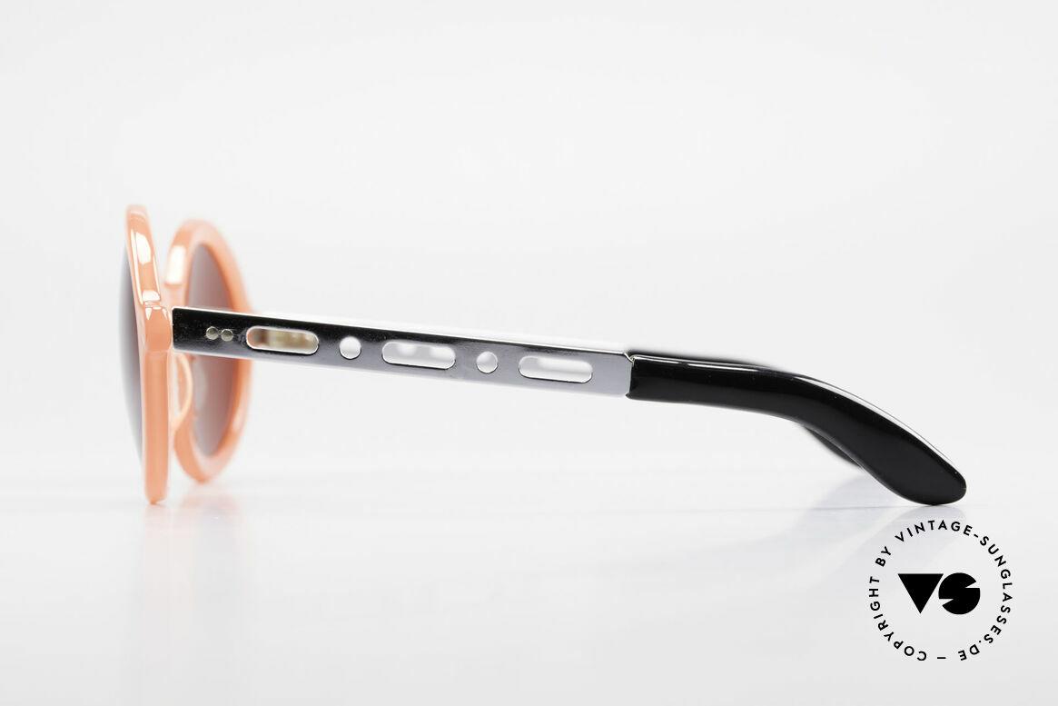 IDC I067 Spassbrille Steampunk 90er, somit eine markante ovale Brillenfassung mit IDC Etui, Passend für Damen