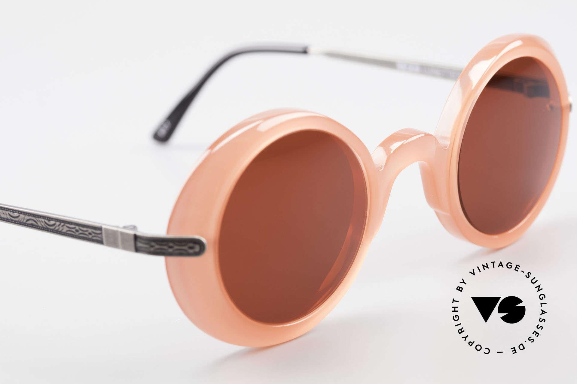 IDC I025 90er Spassbrille Steampunk, KEINE Retrobrille; ein circa 25 Jahre altes ORIGINAL!, Passend für Damen
