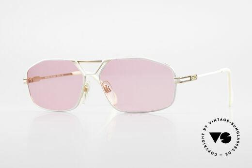 Cazal 729 Pinke Vintage Sonnenbrille Details