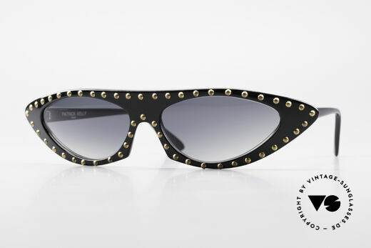 Patrick Kelly Pirate 22 80er Haute Couture Brille Details