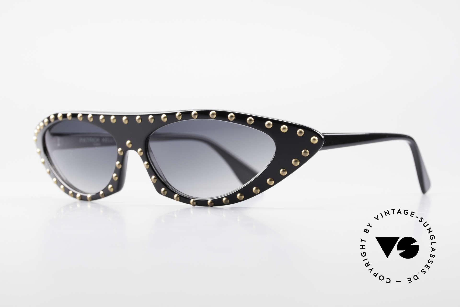 Patrick Kelly Pirate 22 80er Haute Couture Brille, Kenner wissen um den Einfluss P. Kellys auf die HC, Passend für Damen