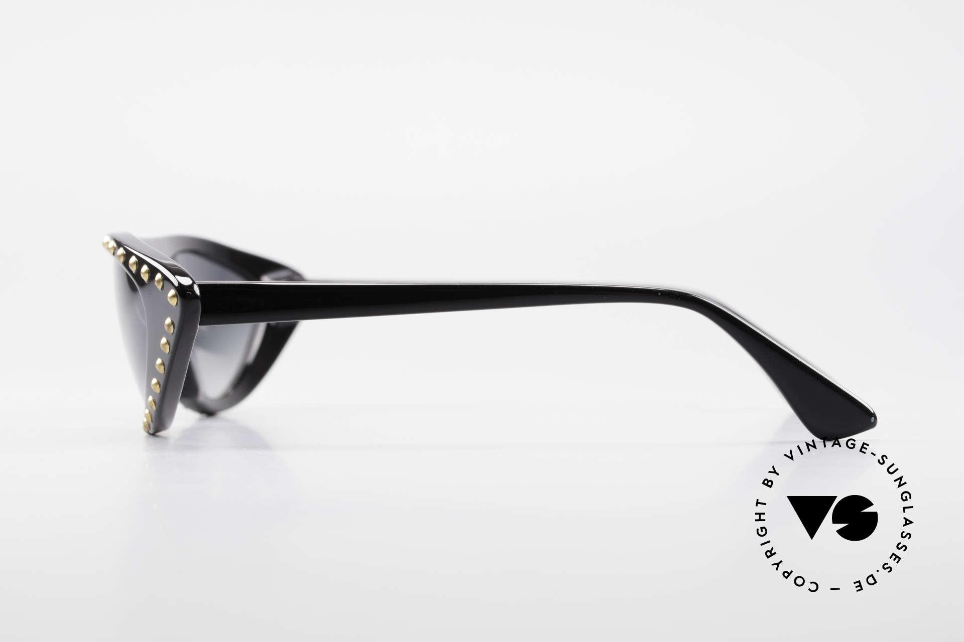 Patrick Kelly Pirate 22 80er Haute Couture Brille, er war der erste Ami der franz. Féd. Haute Couture, Passend für Damen