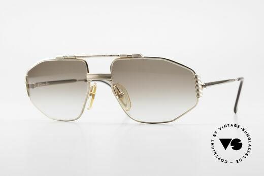 Christian Dior 2516 Vergoldete Sonnenbrille 80er Details