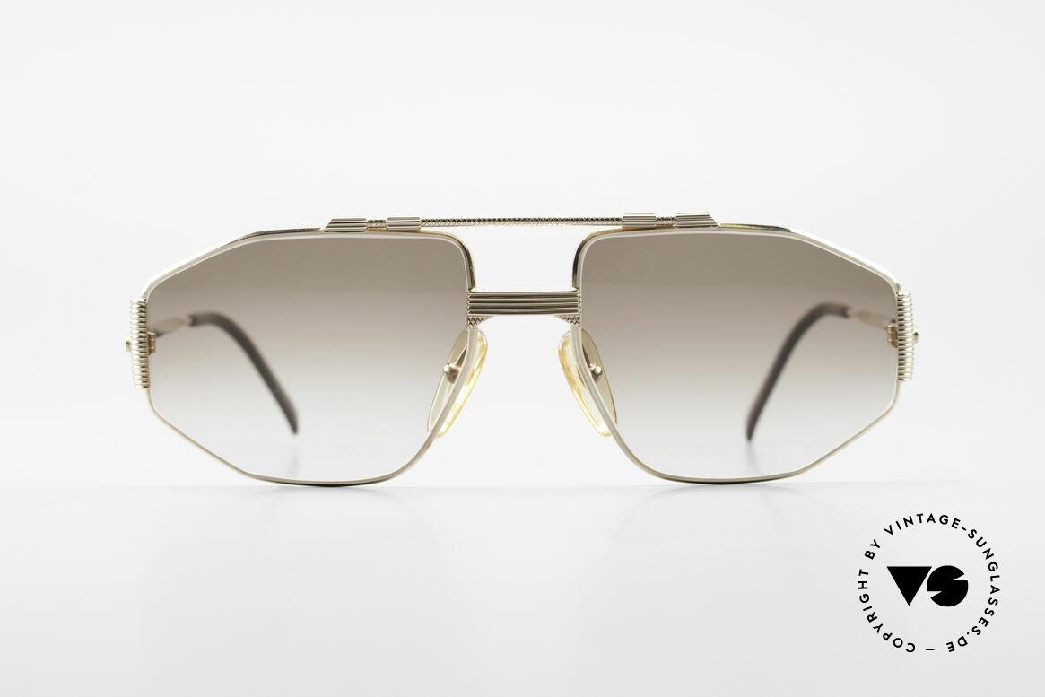 Christian Dior 2516 Vergoldete Sonnenbrille 80er, elegantes Modell für den kosmopolitischen Herren, Passend für Herren