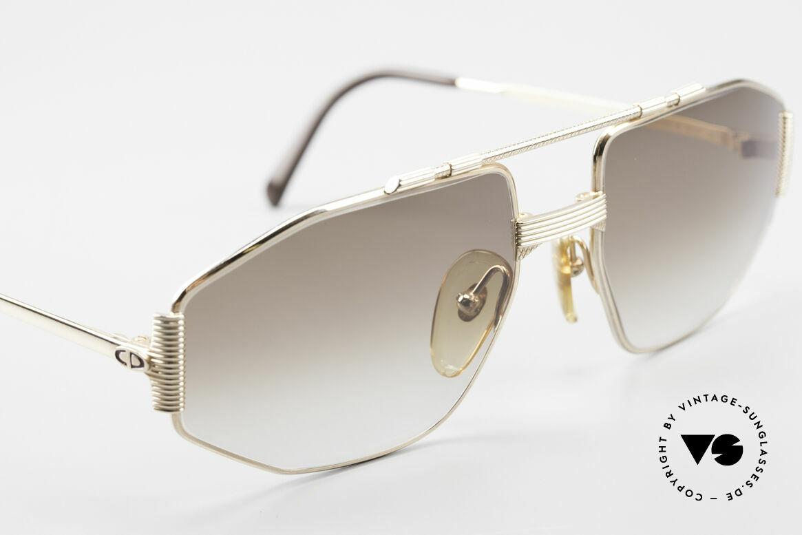 Christian Dior 2516 Vergoldete Sonnenbrille 80er, KEINE Retrobrille, sondern ein altes Dior ORIGINAL, Passend für Herren