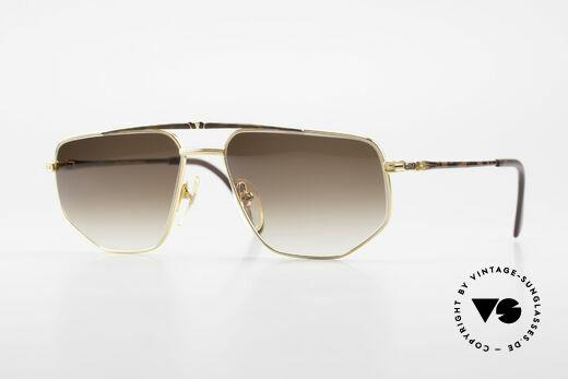 Roman Rothschild R1037 Vergoldete Luxus Sonnenbrille Details