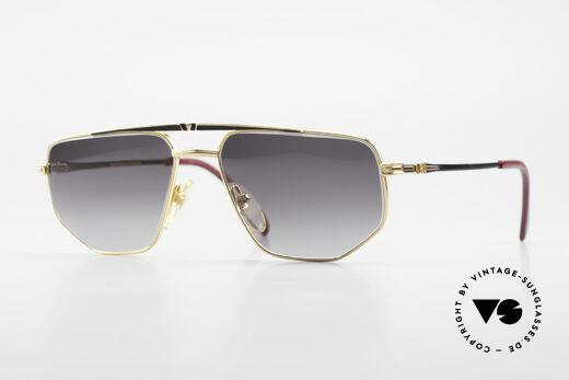 Roman Rothschild R1037 Vergoldete Sonnenbrille Luxus Details
