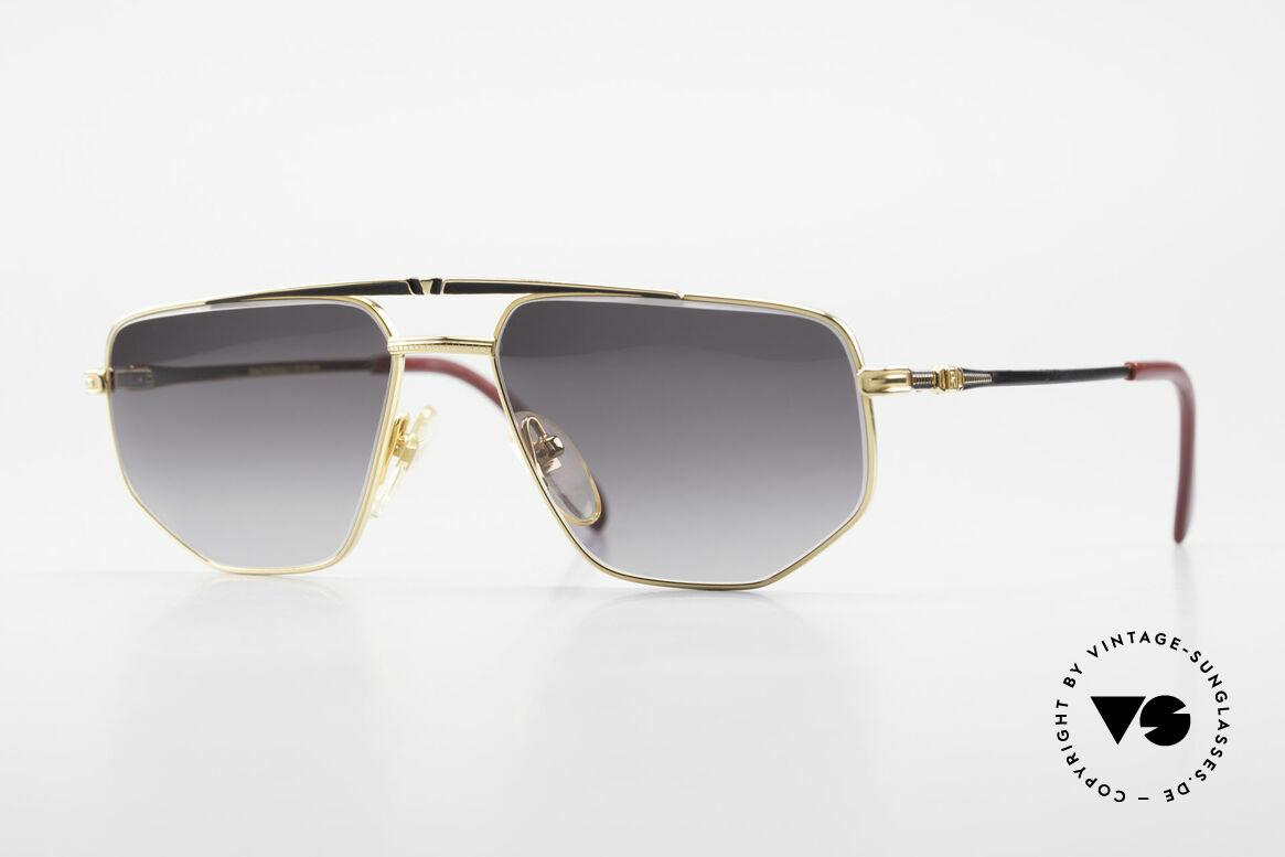 Roman Rothschild R1037 Vergoldete Sonnenbrille Luxus, Roman Rothschild of Switzerland Luxus-Sonnenbrille, Passend für Herren und Damen