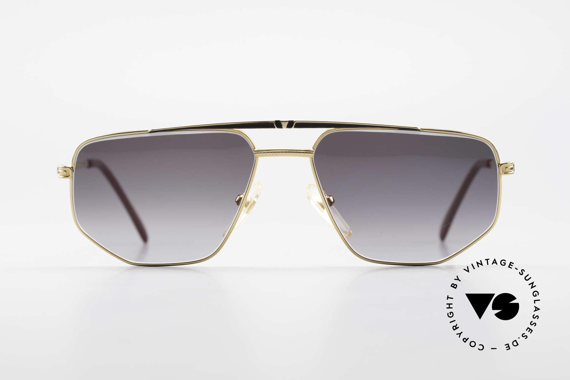 Roman Rothschild R1037 Vergoldete Sonnenbrille Luxus, alle Rothschild Brillen sind 18Kt oder 20Kt vergoldet, Passend für Herren und Damen
