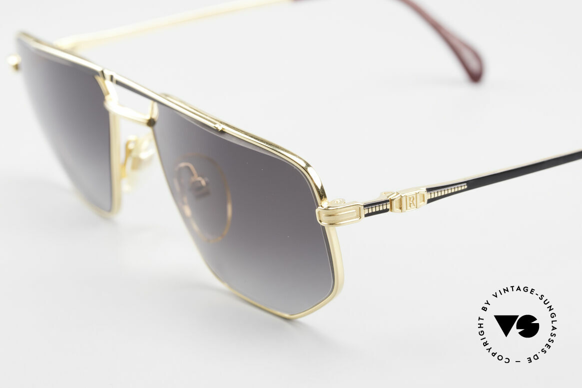 Roman Rothschild R1037 Vergoldete Sonnenbrille Luxus, ungetragenes Einzelstück; Gr. 56/16 mit Rothschild Etui, Passend für Herren und Damen