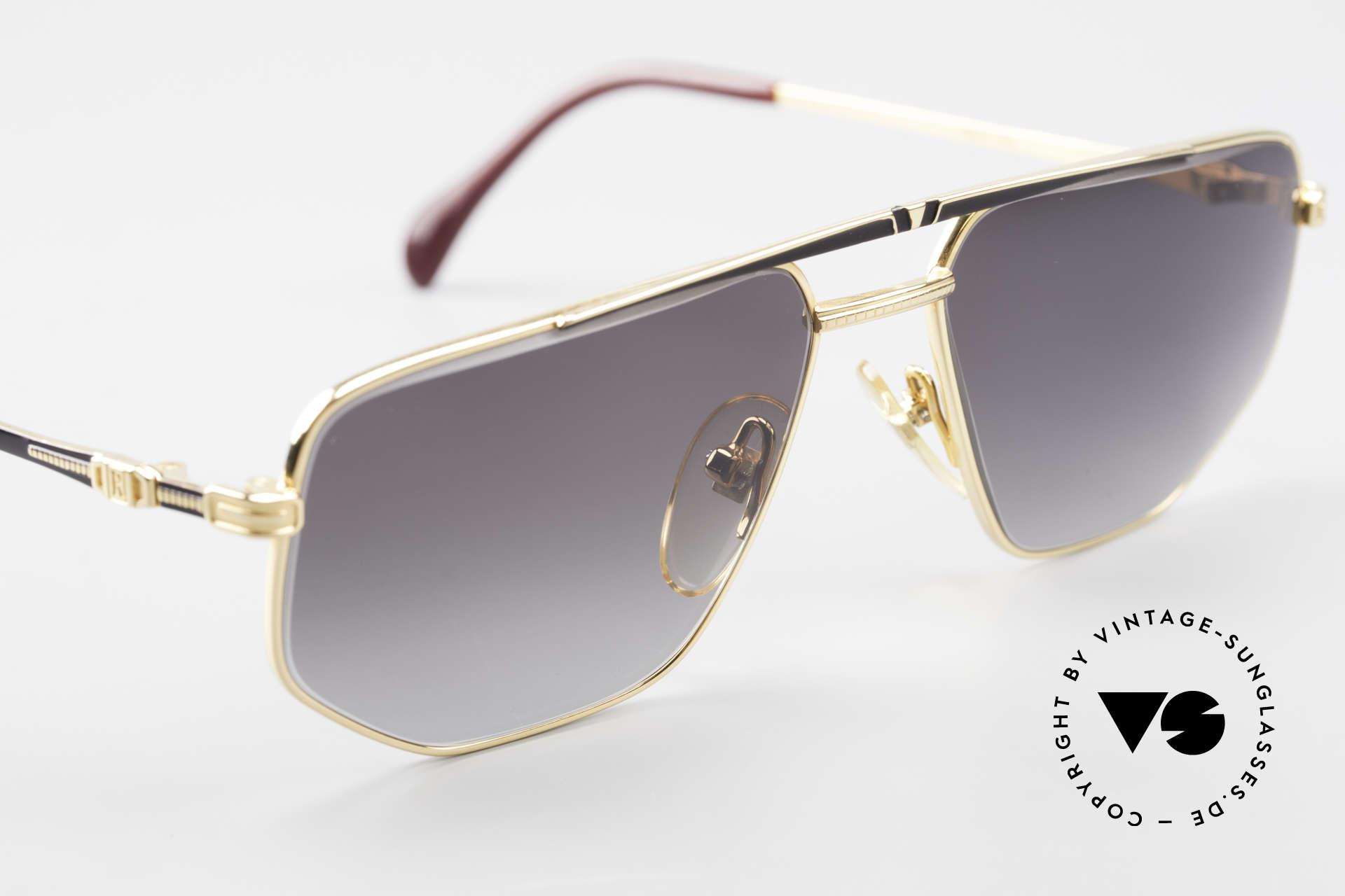 Roman Rothschild R1037 Vergoldete Sonnenbrille Luxus, KEINE Retrobrille, sondern ein kostbares altes Original, Passend für Herren und Damen
