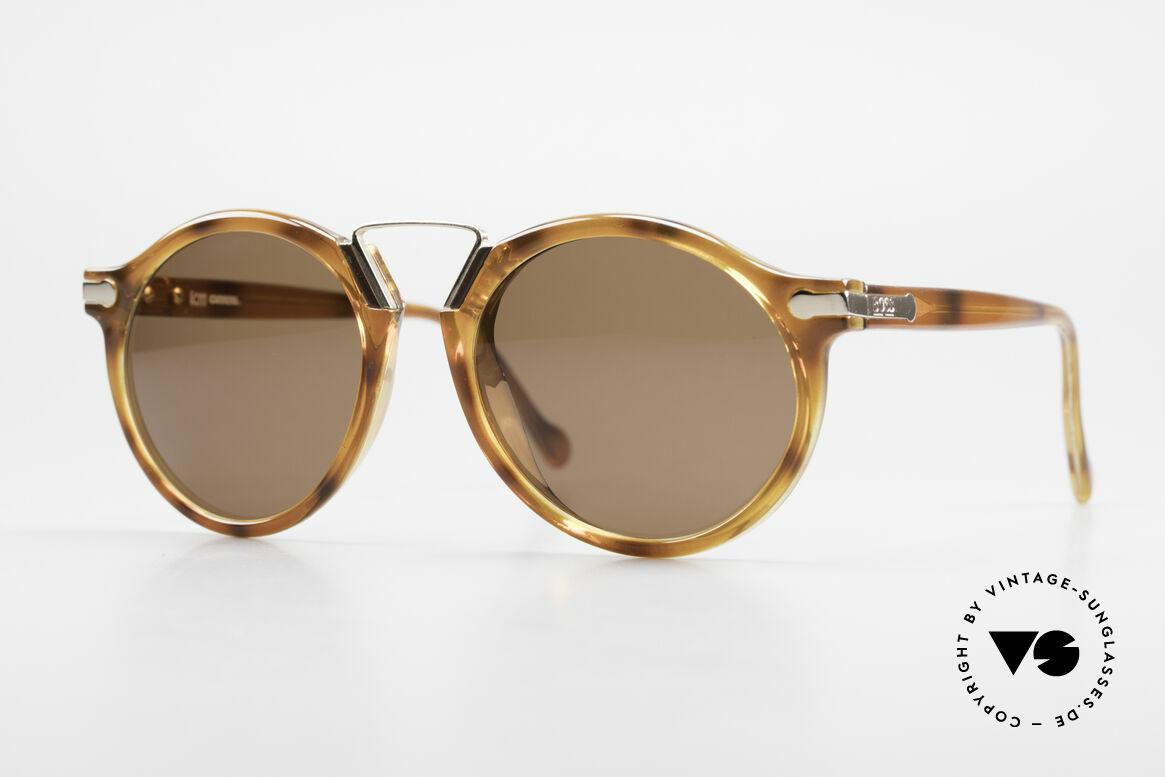 BOSS 5151 90er Panto Style Sonnenbrille, klassische VINTAGE BOSS Designer-Sonnenbrille, Passend für Herren