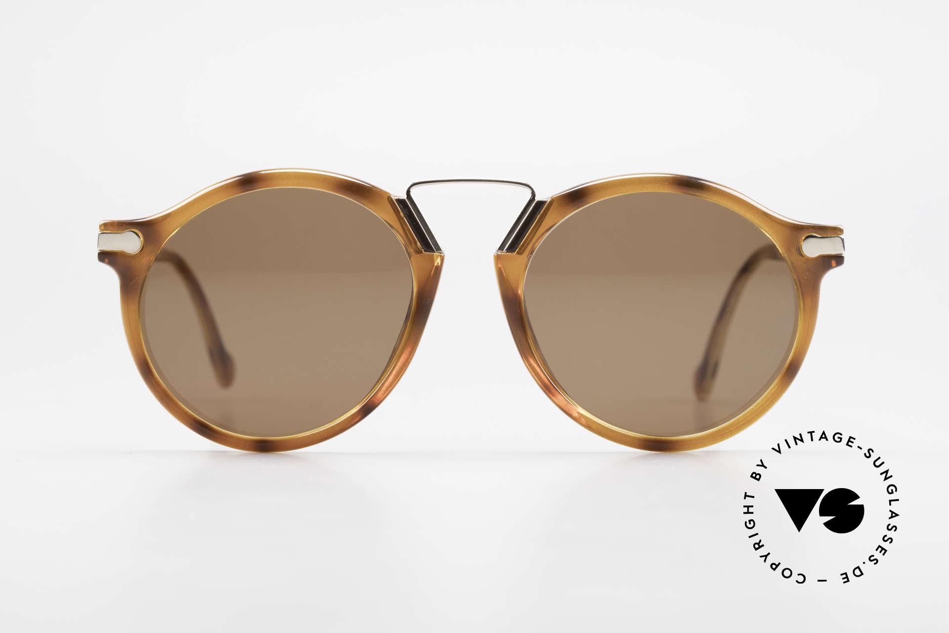 BOSS 5151 90er Panto Style Sonnenbrille, seltenes Original aus den 90ern (made in Austria), Passend für Herren