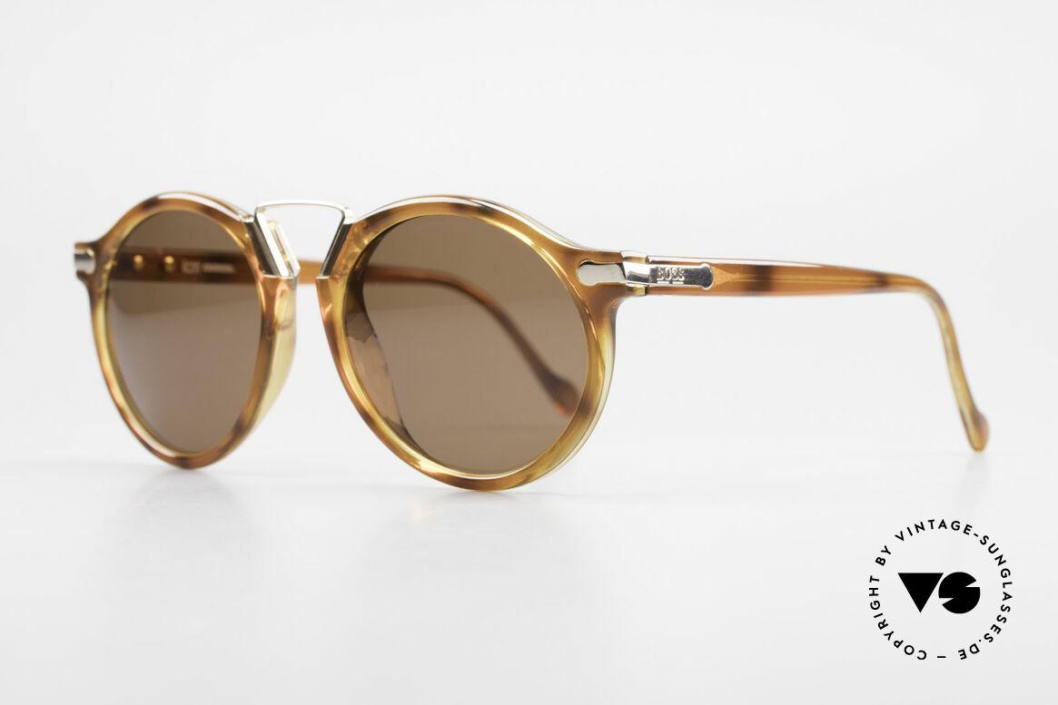 BOSS 5151 90er Panto Style Sonnenbrille, aus damaliger Kooperation von BOSS und Carrera, Passend für Herren
