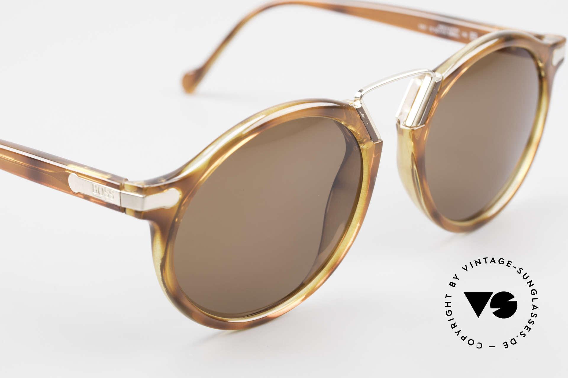 BOSS 5151 90er Panto Style Sonnenbrille, unbenutztes vintage Einzelstück (kostbar & selten), Passend für Herren