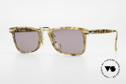 BOSS 5168 Eckige Vintage Sonnenbrille Details
