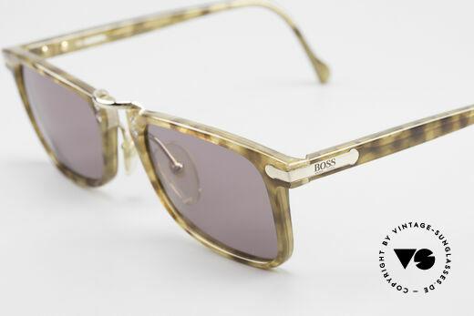 BOSS 5168 Eckige Vintage Sonnenbrille