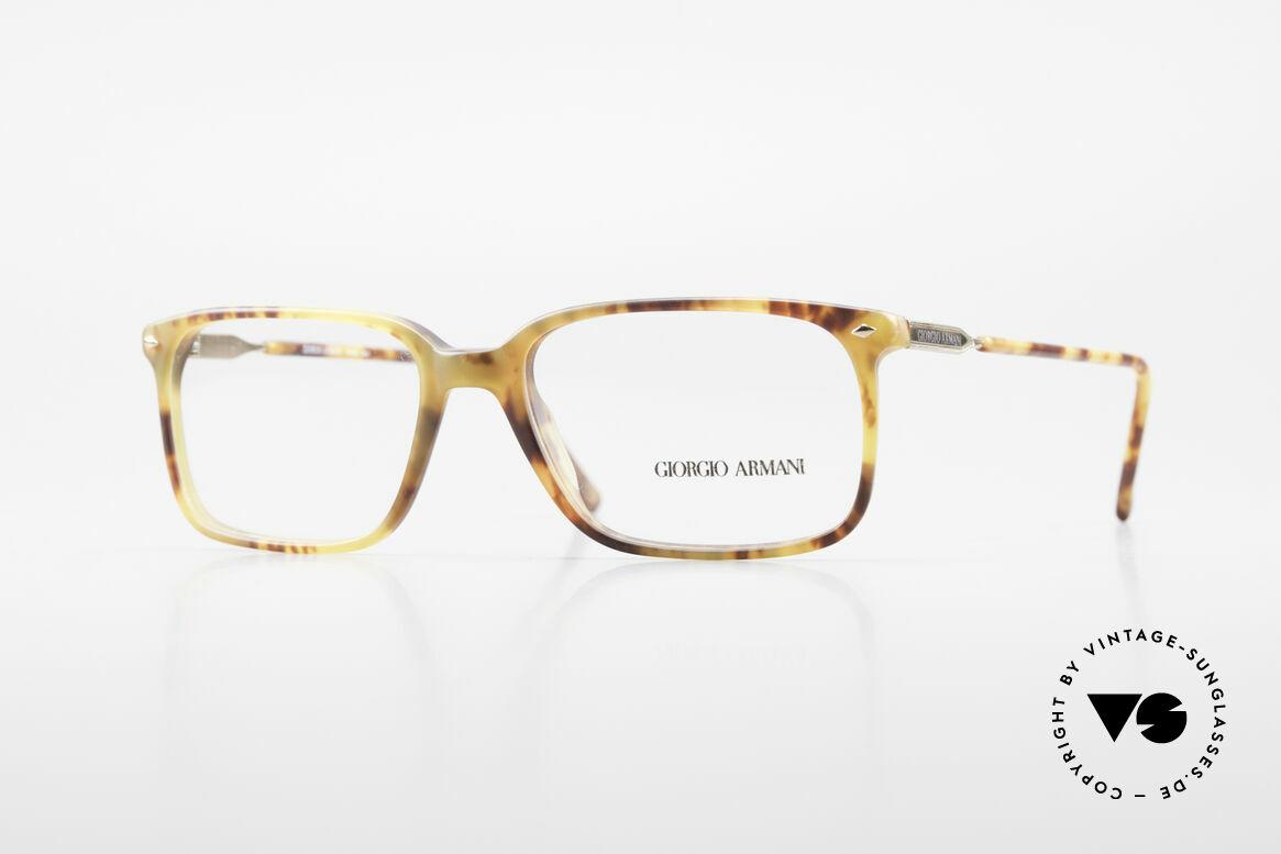 """Giorgio Armani 332 Eckige Vintage Fassung 80er, """"true vintage"""" Brillenfassung von GIORGIO ARMANI, Passend für Herren"""