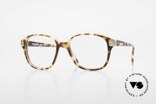 Giorgio Armani 307 Klassische 80er Vintage Brille Details