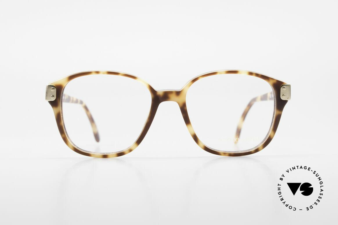 Giorgio Armani 307 Klassische 80er Vintage Brille, zeitlose 1980er Giorgio ARMANI Designer-Fassung, Passend für Herren und Damen