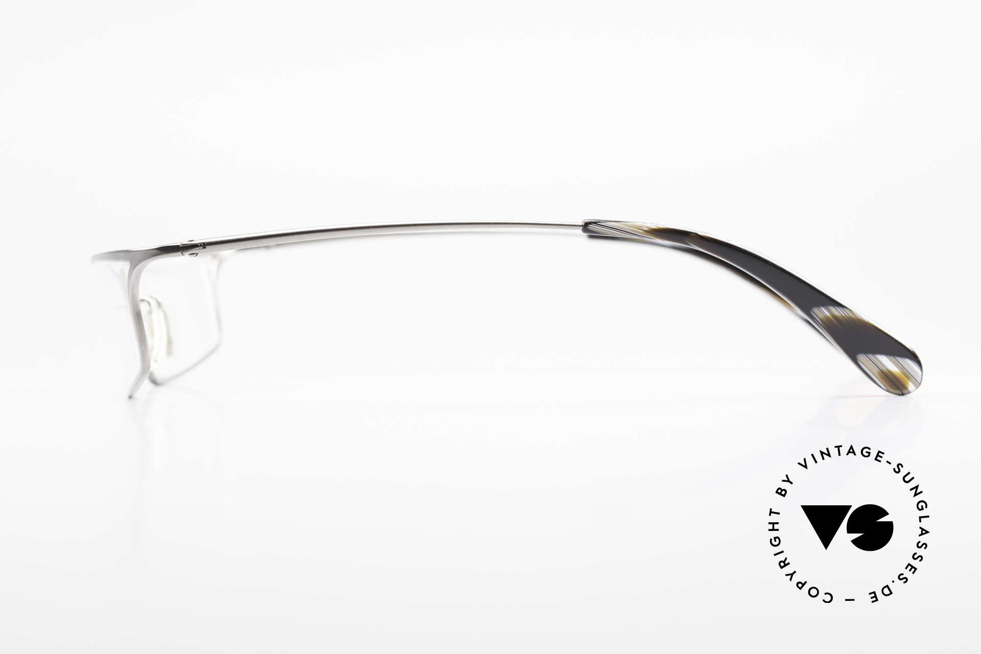 Bugatti 352 Odotype Markante Herren Fassung, sehr spezielle Glaseinfassung & Top Komfort, Passend für Herren