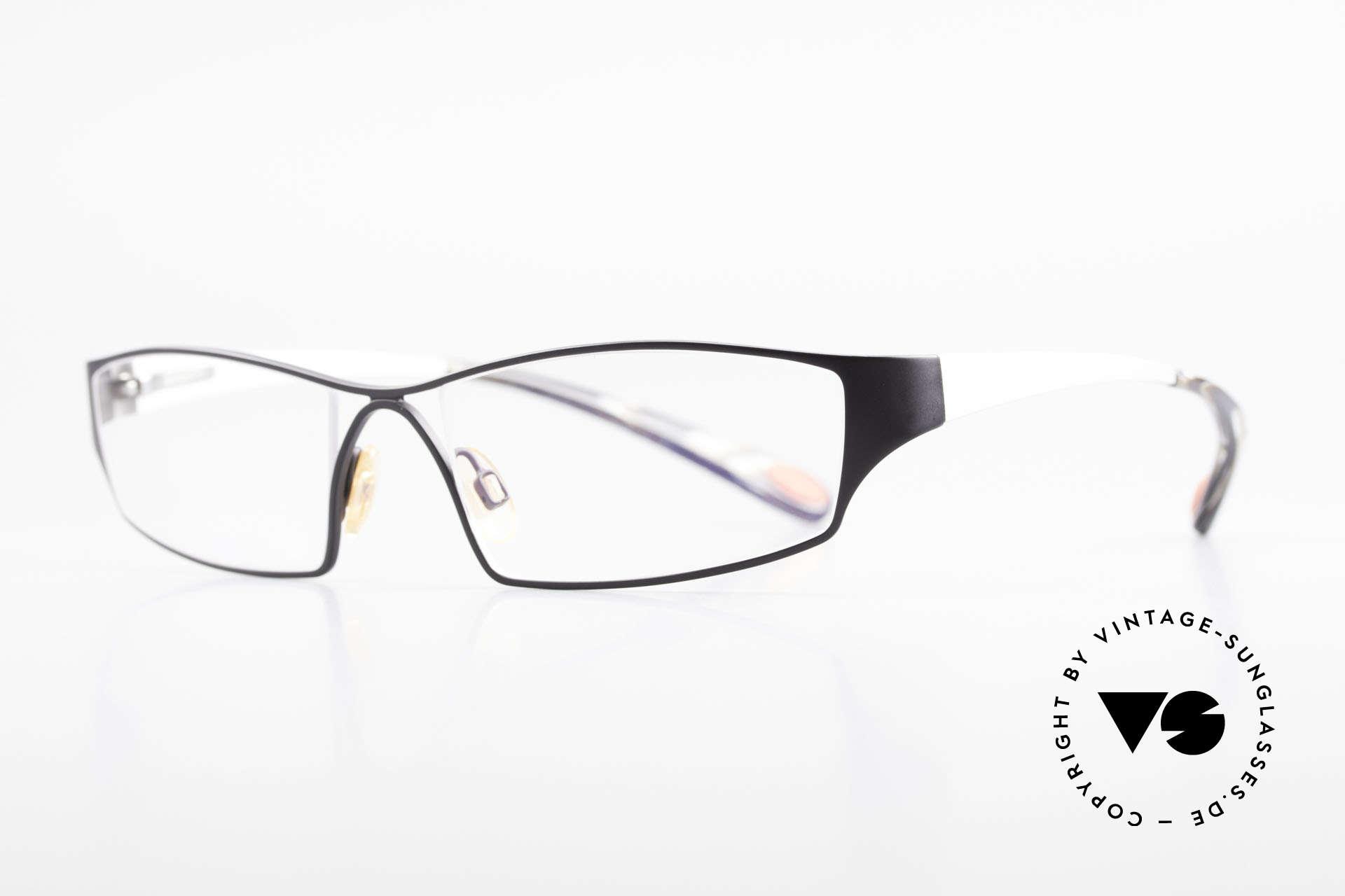 Bugatti 207 Odotype Luxus Herren Designerbrille, high-tech Rahmen mit genialer Glaseinfassung, Passend für Herren