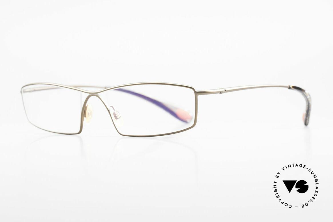 Bugatti 201 Odotype Luxus Vintage Brille Herren, high-tech Rahmen mit genialer Glaseinfassung, Passend für Herren