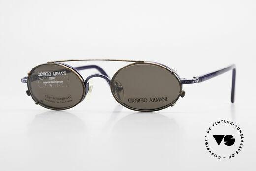 Giorgio Armani 250 Clip On Vintage Sonnenbrille Details
