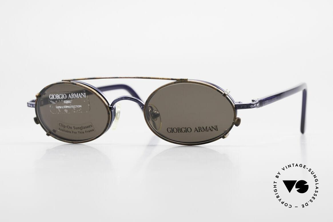 Giorgio Armani 250 Clip On Vintage Sonnenbrille