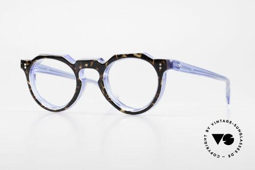 Lesca Panto 8mm Antike 1960er Panto Brille Details