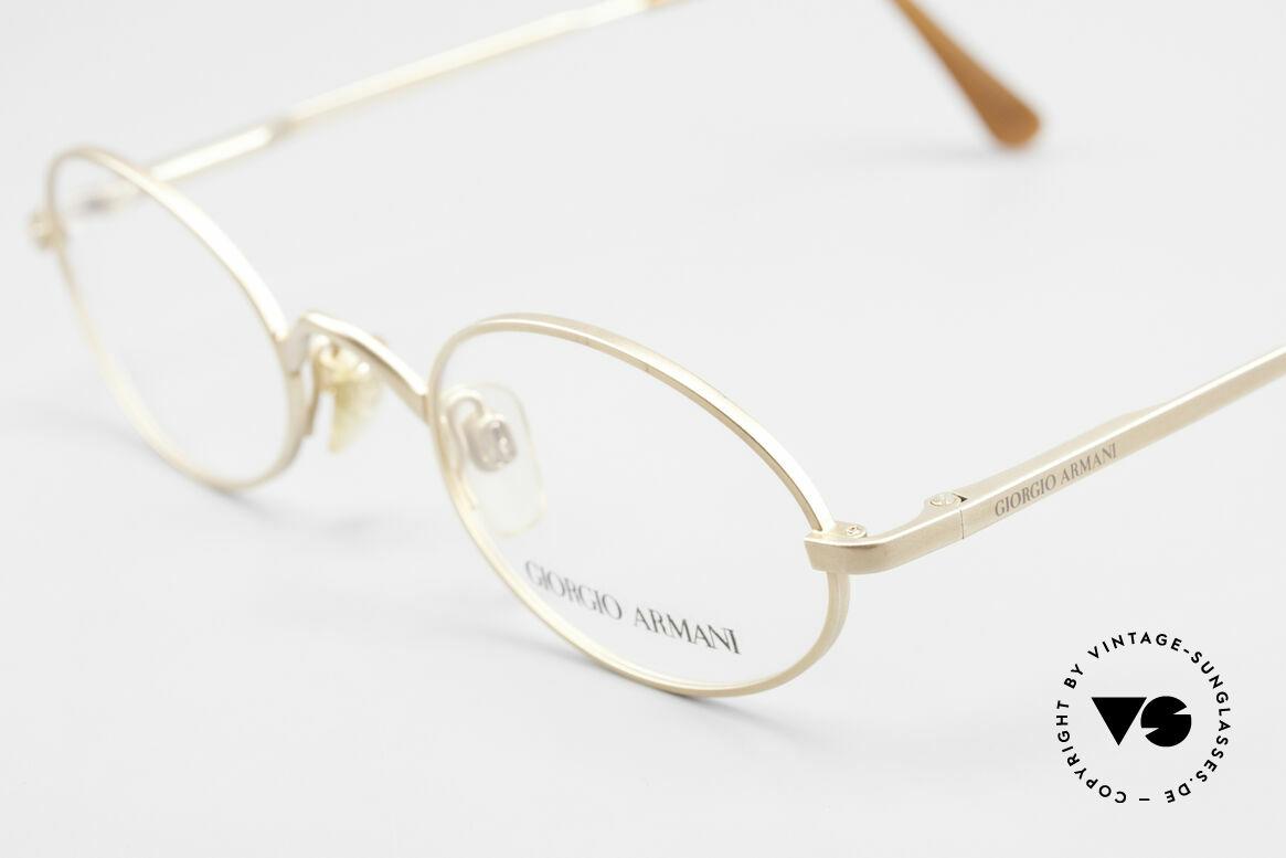 Giorgio Armani 122 Vintage Designerbrille Oval