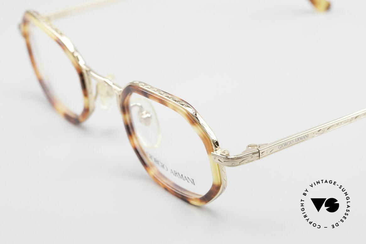 Giorgio Armani 143 Achteckige Vintage Brille 80er