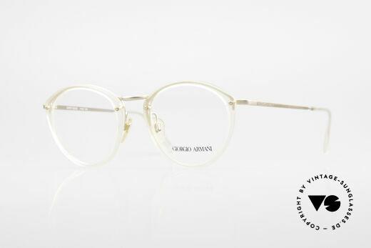 Giorgio Armani 354 80er Designer Brille Vintage Details