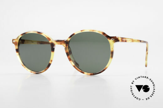 Giorgio Armani 325 Rare 90er Panto Sonnenbrille Details