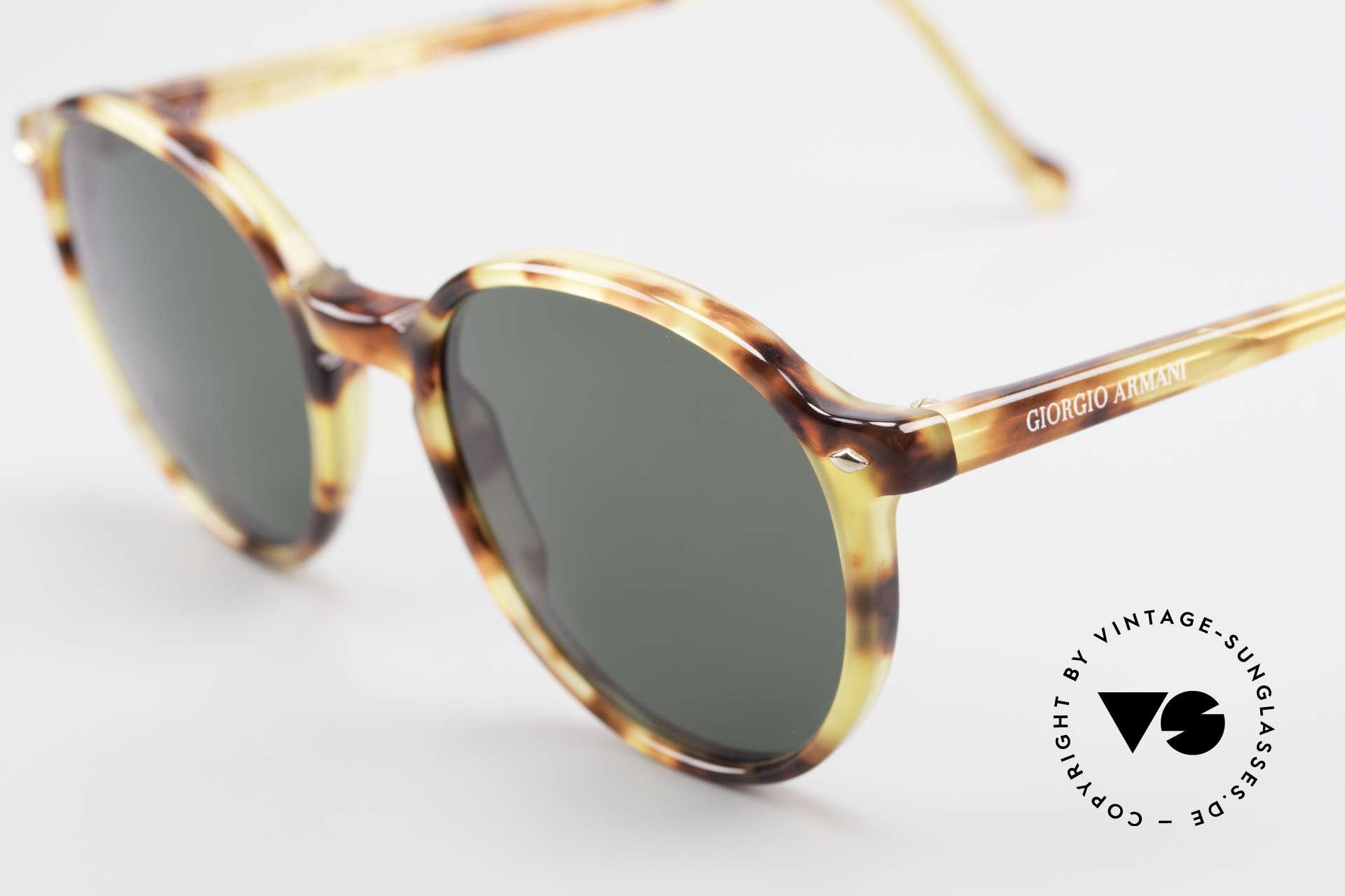 Giorgio Armani 325 Rare 90er Panto Sonnenbrille, ungetragen (wie alle unsere 1990er Design-Klassiker), Passend für Herren und Damen