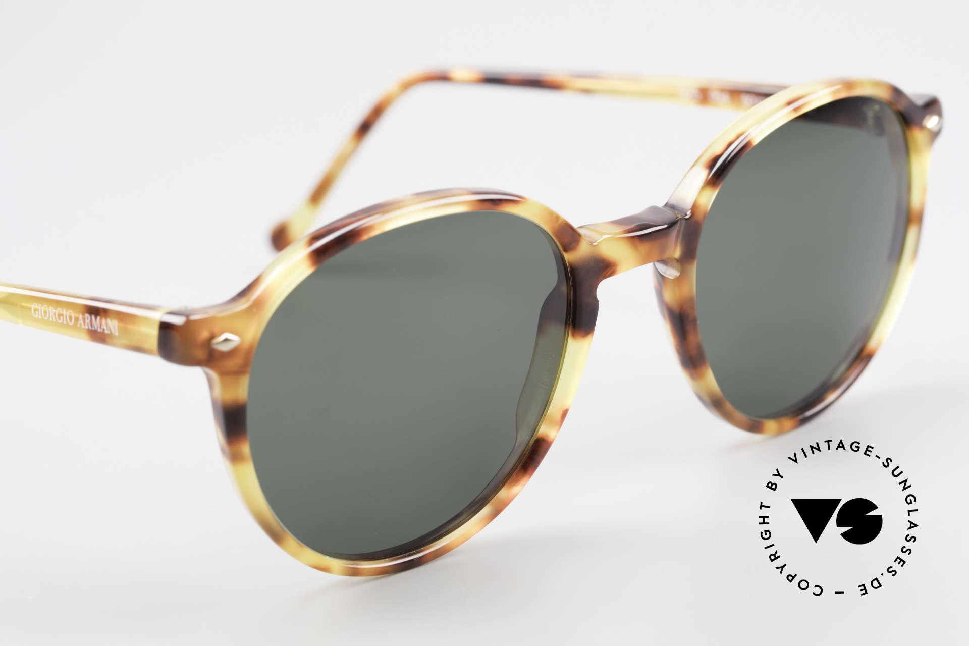 Giorgio Armani 325 Rare 90er Panto Sonnenbrille, KEINE Retromode, sondern ein altes Armani-Original!, Passend für Herren und Damen