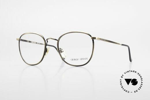 Giorgio Armani 150 Klassische Herrenbrille 80er Details