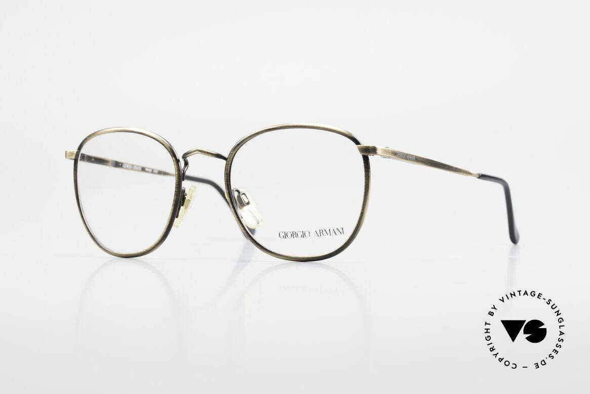 Giorgio Armani 150 Klassische Herrenbrille 80er, zeitlose vintage GIORGIO Armani Designer-Fassung, Passend für Herren