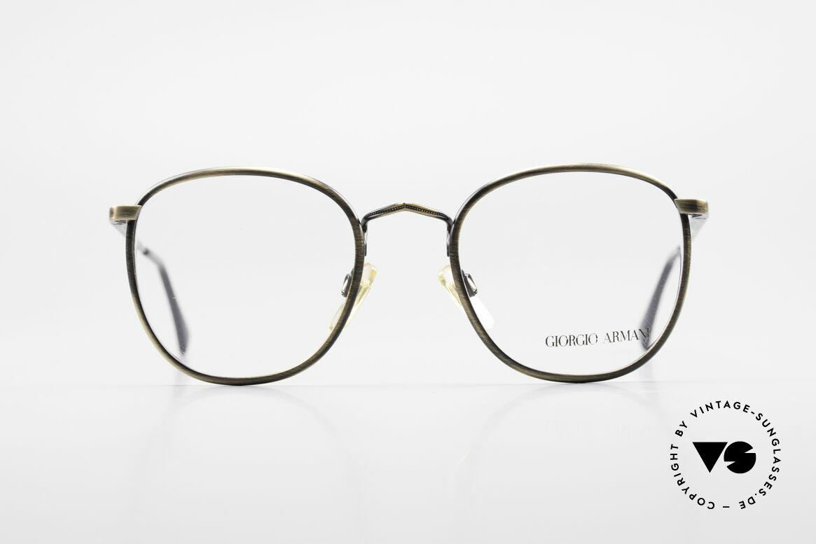 Giorgio Armani 150 Klassische Herrenbrille 80er, sehr klassische Herrenform mit flexiblen Scharnieren, Passend für Herren