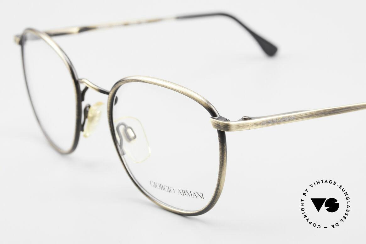 Giorgio Armani 150 Klassische Herrenbrille 80er, wahre 'Gentlemen-Brille' in echter Premium-Qualität, Passend für Herren