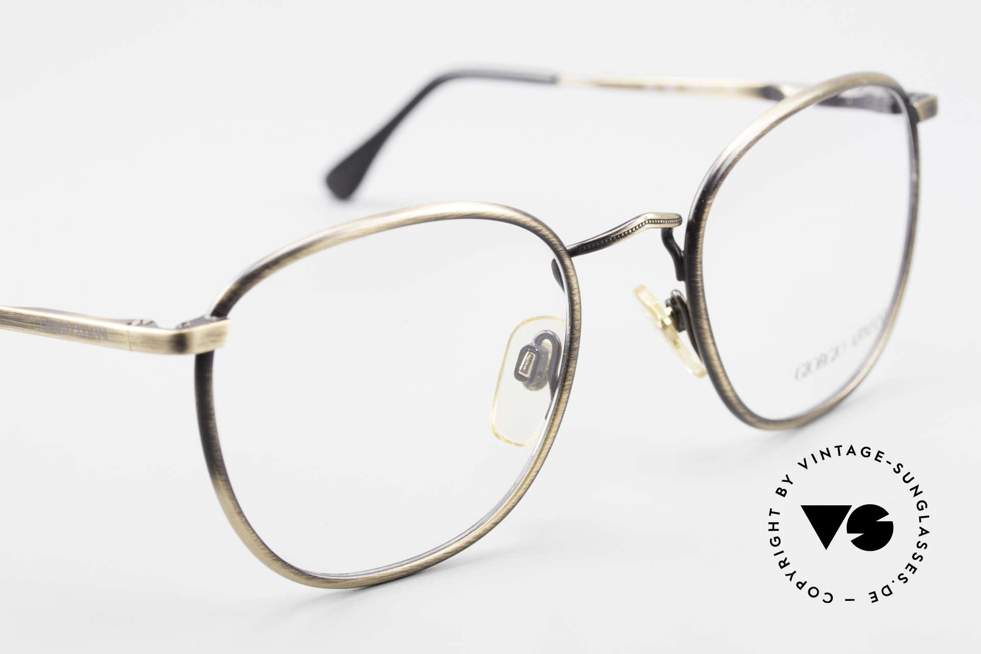 Giorgio Armani 150 Klassische Herrenbrille 80er, ungetragen; wie all unsere 80er Jahre Designklassiker, Passend für Herren