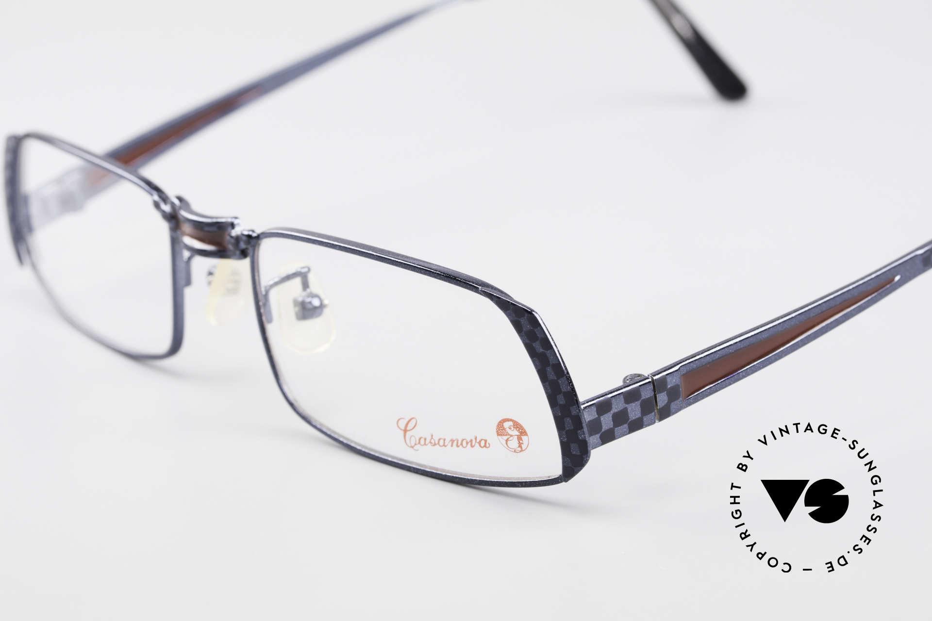 Casanova LC70 Alte Vintage Designer Brille, eine wirklich sehr außergewöhnliche Designer-Brille!, Passend für Herren und Damen