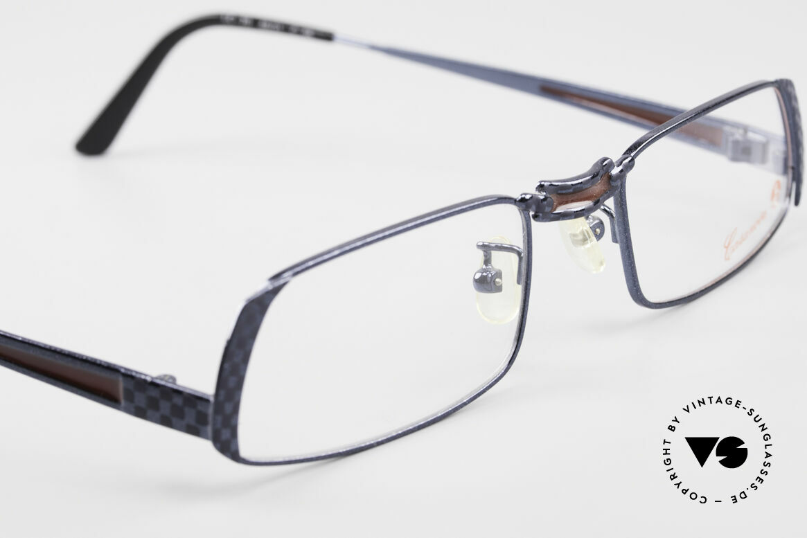 Casanova LC70 Alte Vintage Designer Brille, ungetragen (wie alle unsere kunstvollen CASANOVAS), Passend für Herren und Damen