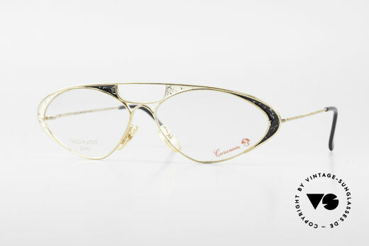 Casanova LC8 80er Vintage Damenbrille 24kt Details