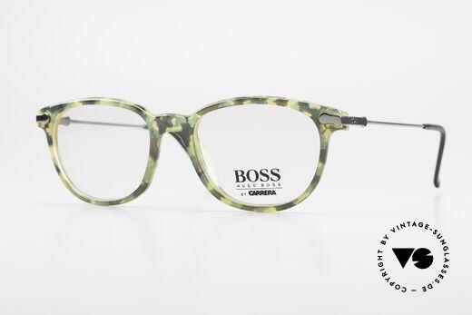 BOSS 5115 Vintage Brille In Tarnfarbe Details